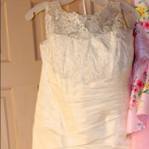 ***David's Bridal Wedding Dress***
